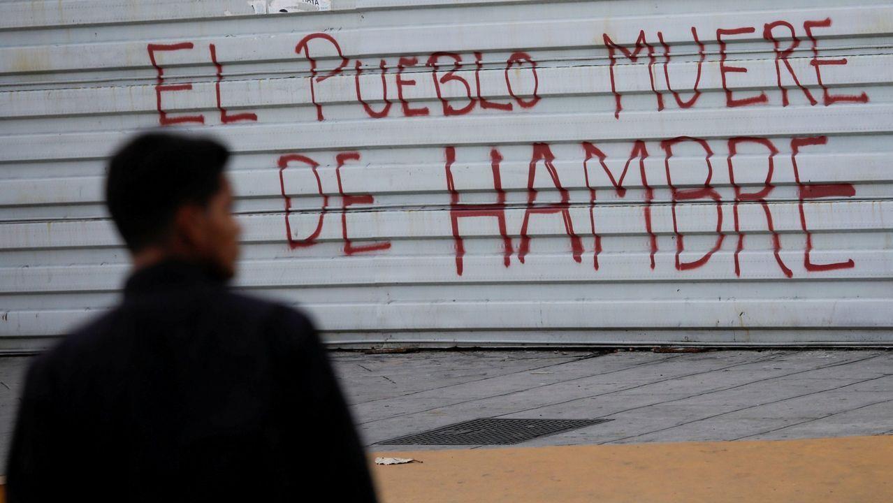 Pintada en una calle de Caracas