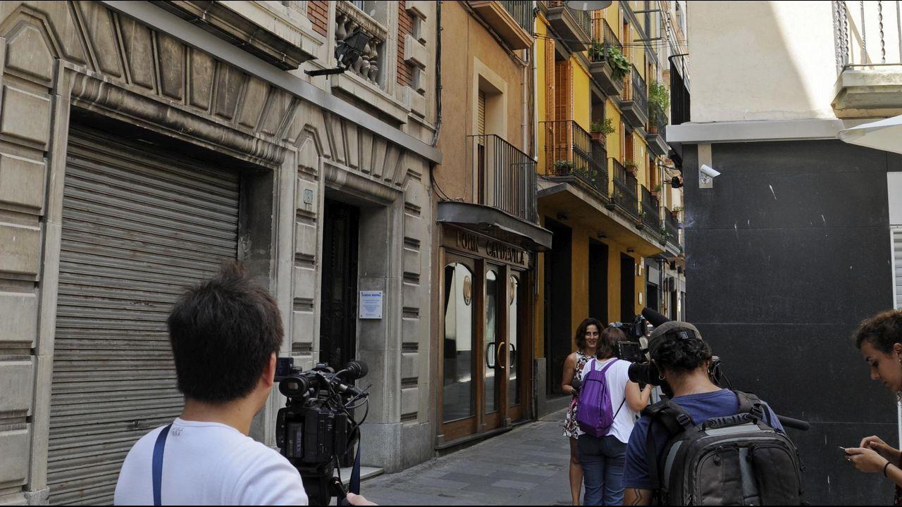 Barcelona gritó «no tenemos miedo».Actos en memoria de las victimas del 11-M en Madrid