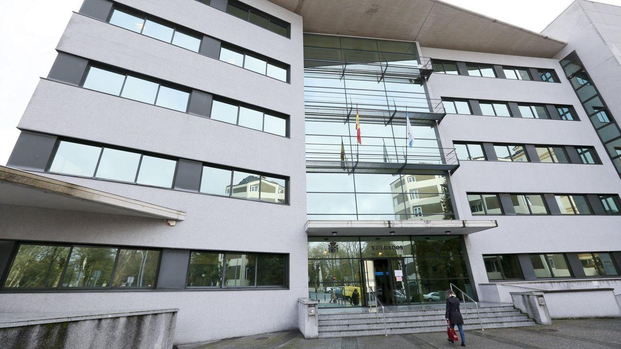 Edificio de los juzgados de Lugo