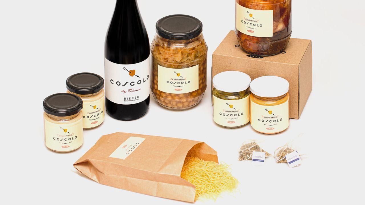 Cocido maragato. Recientemente, Casa Coscolo, especializada en cocidos, ha recibido la nominación de Bib Gourmand concedida por la guía Michelín.