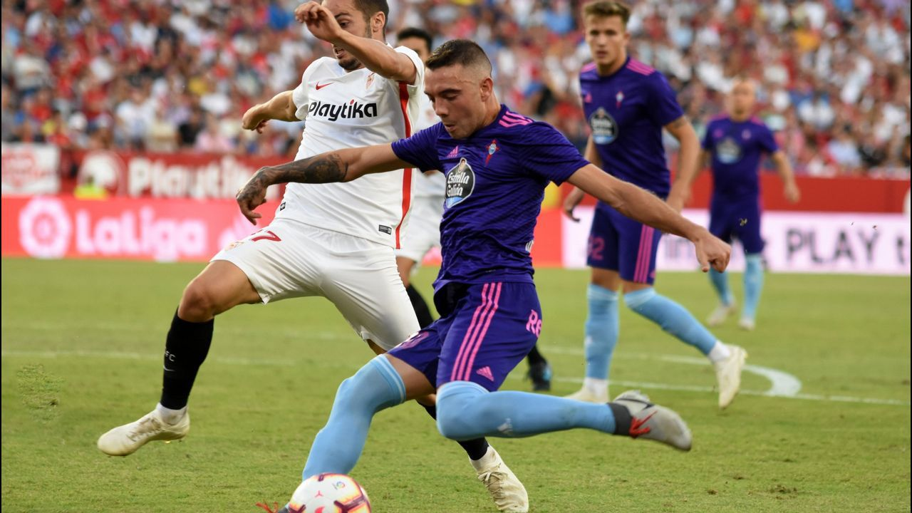 287 - Sevilla-Celta (2-1) de Primera el 7 de octubre del 2018