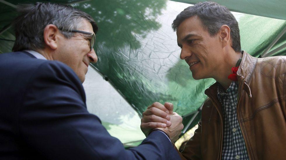 Pedro Sánchez ofrece a Patxi López integrarse en su candidatura...