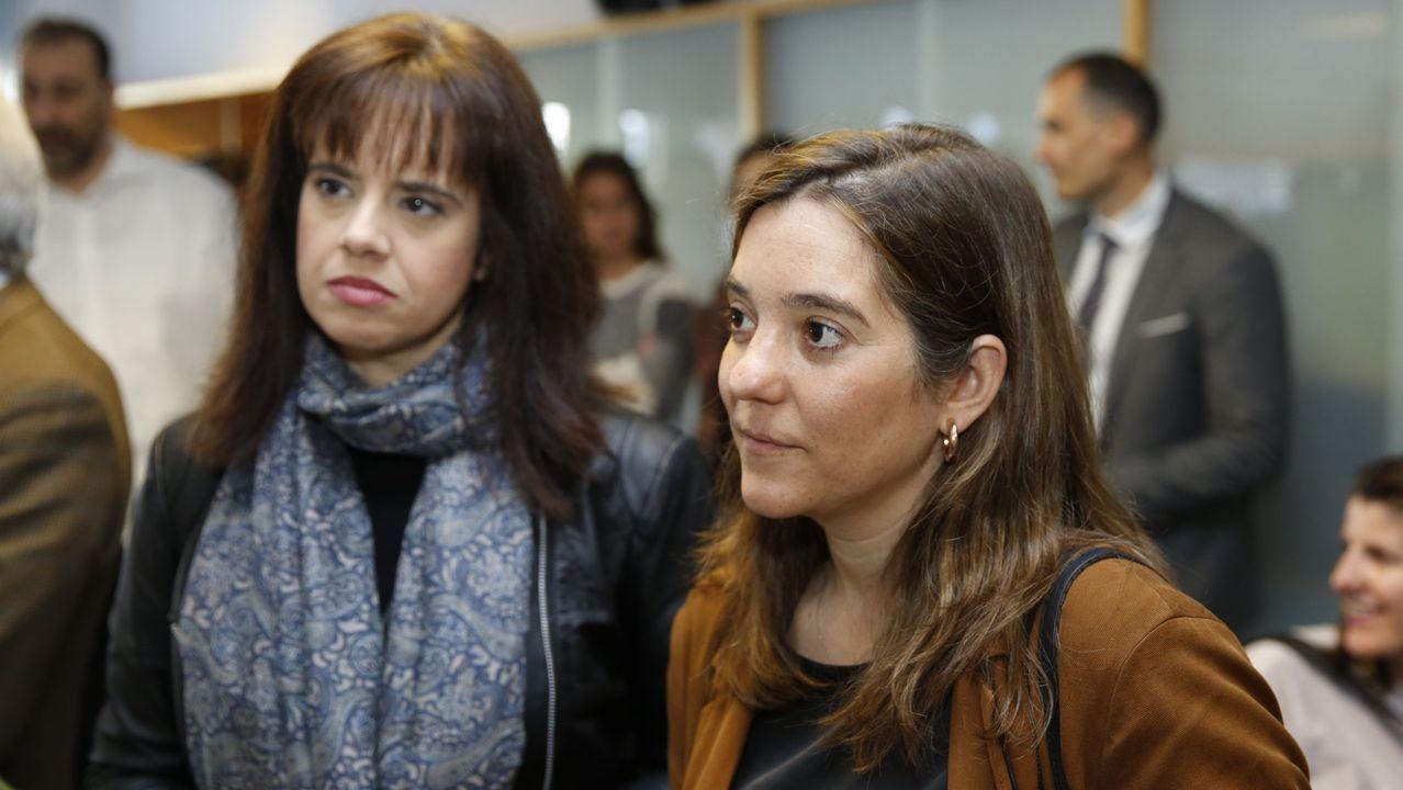 Eva Martínez Acón e Inés Rey en una imagen de archivo