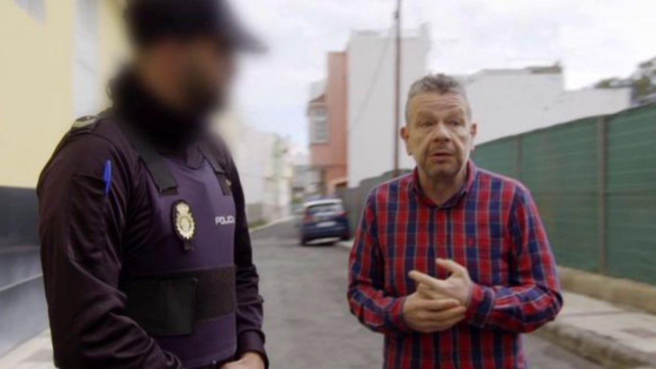 Alberto Chicote.Alberto Chicote necesita la ayuda de la policía en uno de sus últimos programas