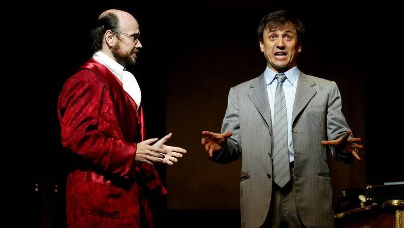 Santiago Segura y José Mota, en un estreno en Madrid
