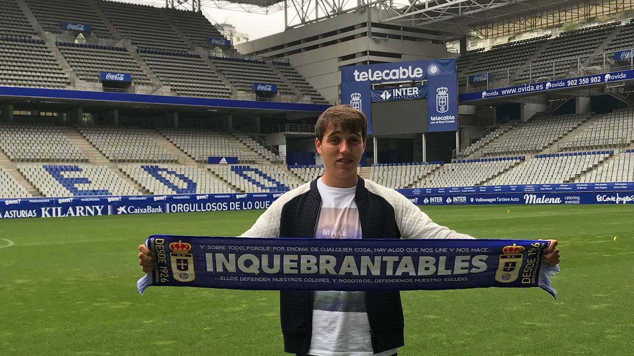 Ugarte Real Oviedo Vetusta presentacion Carlos Tartiere
