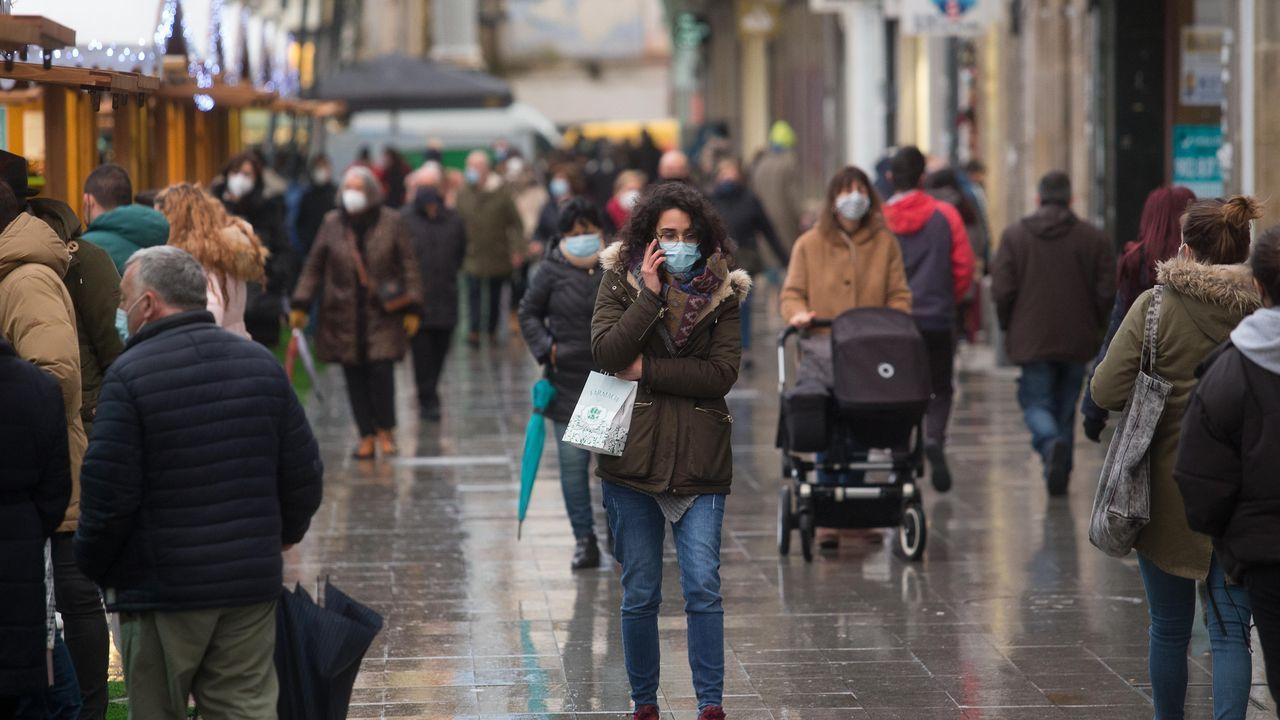 El municipio de Lugo ya supera los 200 casos notificados en los últimos 14 días
