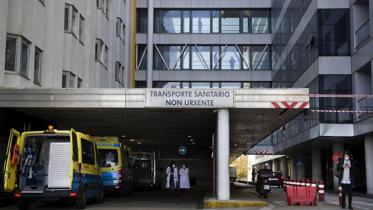 Hospital Universitario A Coruña, zona donde se encontraban las antiguas urgencias