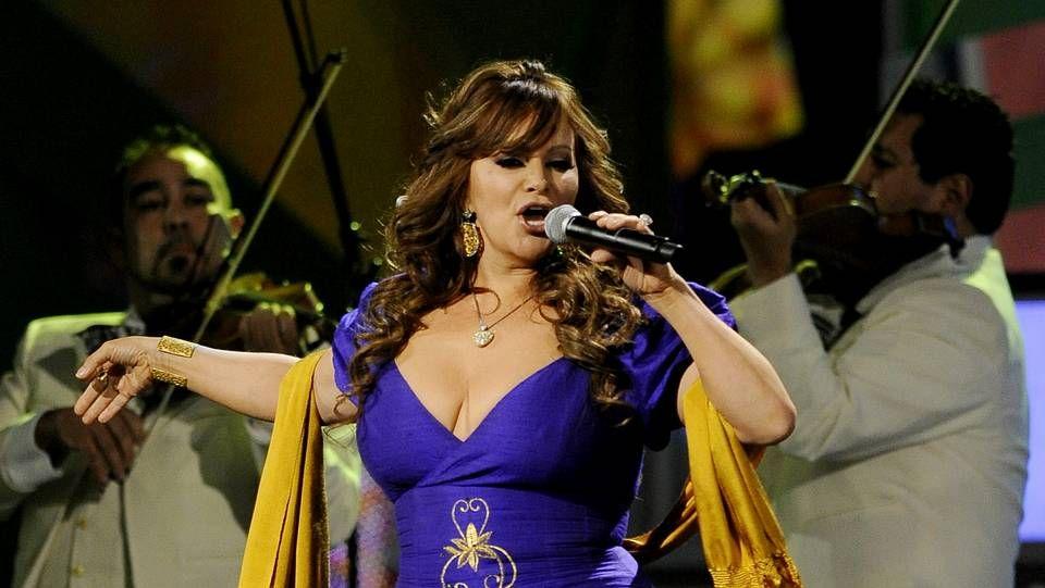 La gala, en imágenes.Jenni Rivera en un concierto en Las Vegas en 2010