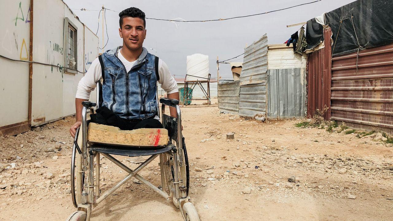 Sami, de 14 años, salió a jugar y perdió las piernas. «Vi las manos de mi primo volando frente a mí»
