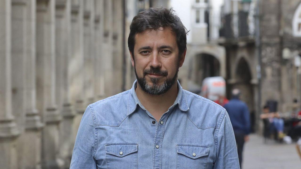 ANTÓN GÓMEZ-REINO. Número 1 de Unidas Podemos por la provincia de A Coruña