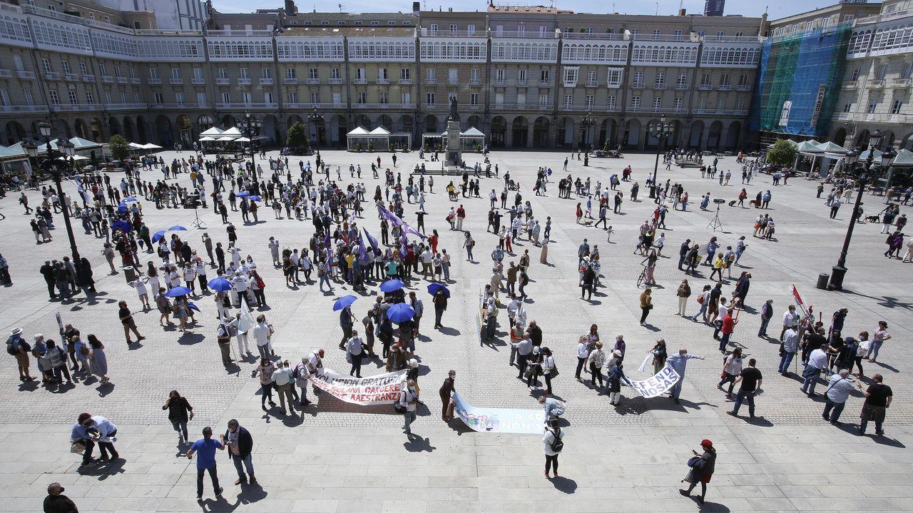 La manifestación del 30 de mayo por el puerto