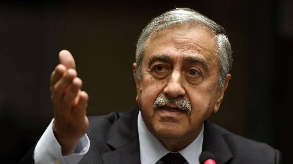 El sur de Europa se reúne en Madrid.El líder turcochipriota Mustafá Akinci