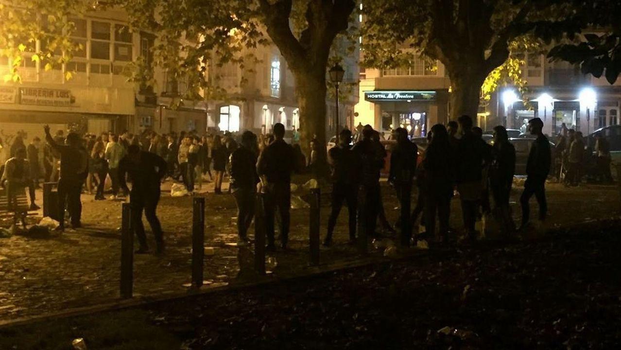 La Policía Local sanciona a cinco hosteleros por trabajar sin mascarilla
