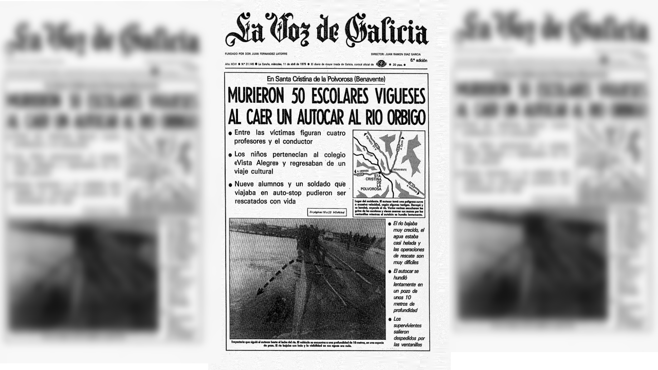 40 aniversario accidente rio Orbigo.Polideportivo de As Travesas donde trabajaba el empleado suspendido
