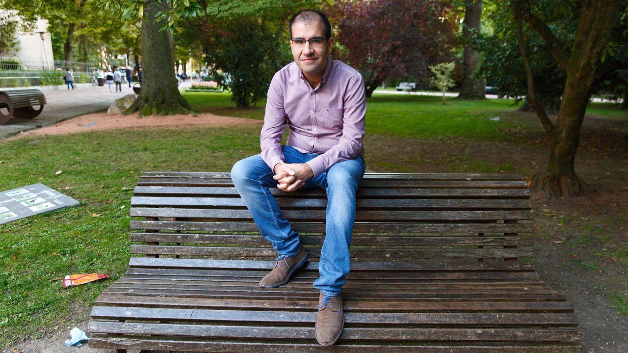 El destituido secretario de Organización de Ciudadanos en el País Vasco, Javier Gómez