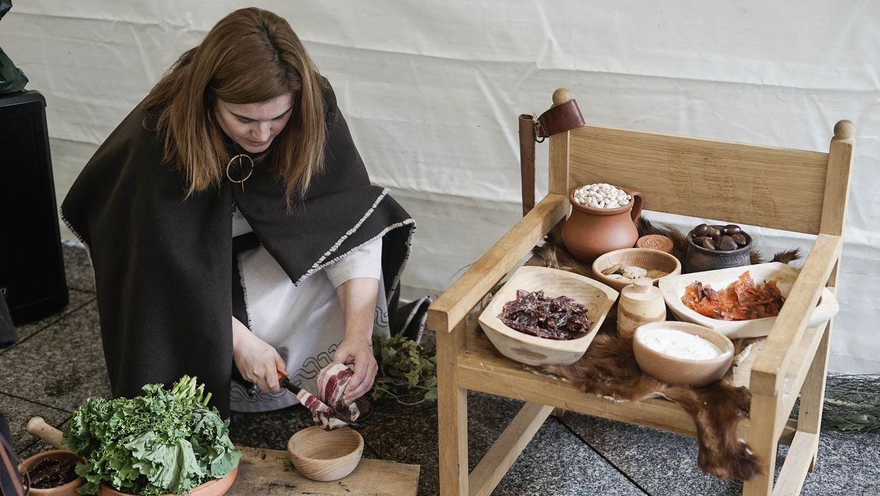 El poblado celta en la Alameda de Ourense, en imágenes