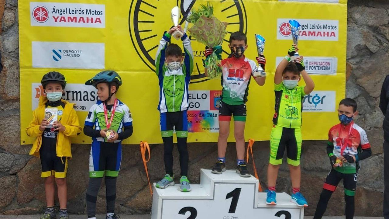 El nuevo Bike Park Junior de Manzaneda.Iván García Cortina