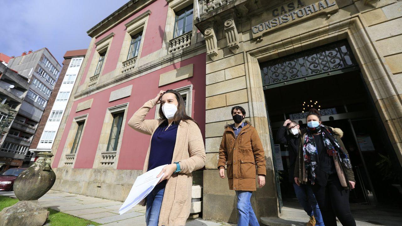 Marea da Vila es la marca de Podemos en Vilagarcía