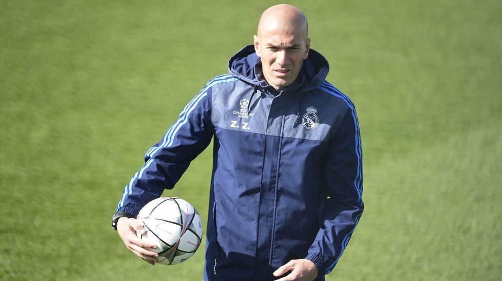 Zidane no se fía de la Roma