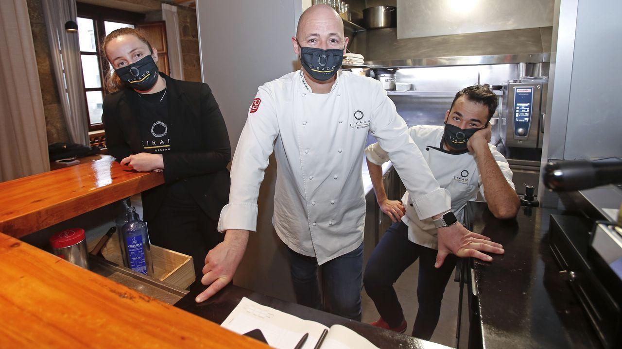 Jose Antonio Campoviejo, dueño y cocinero del restaurante El Corral del Indianu