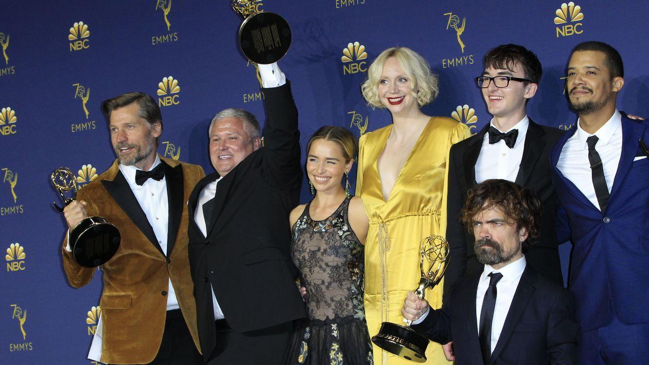 Elenco de Juego de Tronos, Emmy a Mejor Serie Dramática
