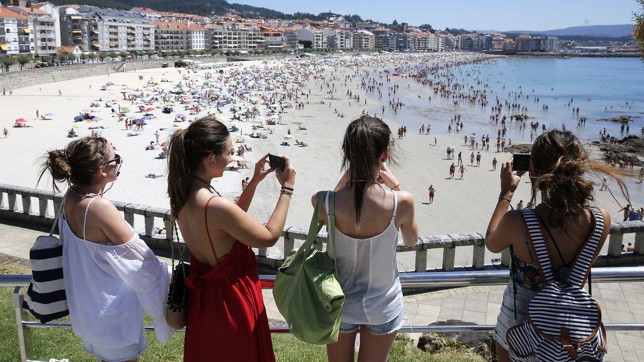 Sanxenxo es el municipio con la temperatura media más alta de la comarca de Pontevedra