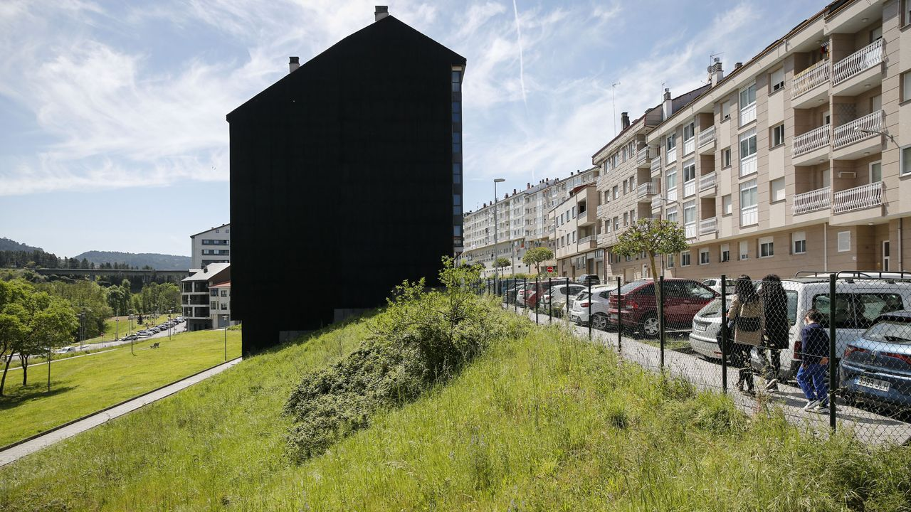 La única parcela urbana a subasta está en la rúa do Areal. Es un terreno edificable de 188 metros cuadrados y su precio de salida es de 200.917 euros