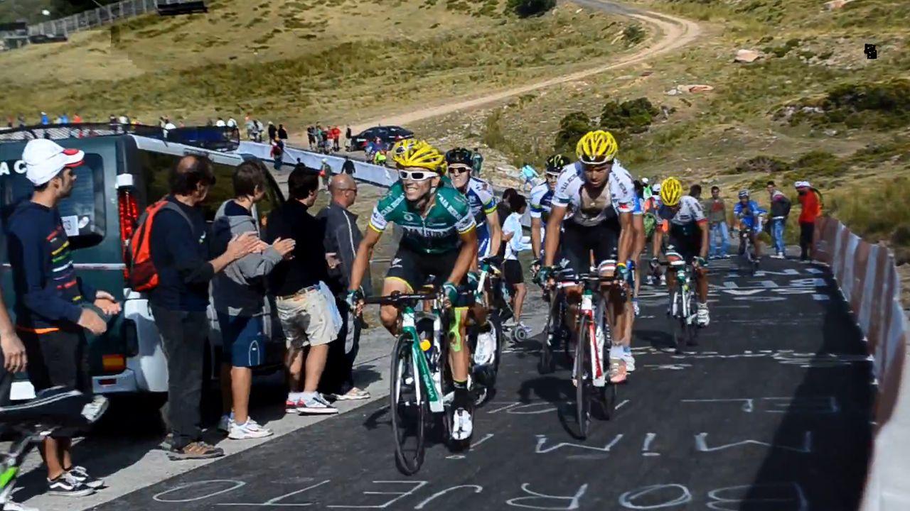 Dinero.Imagen de archivo de la Vuelta Ciclista a su paso por el Puerto de Pajares
