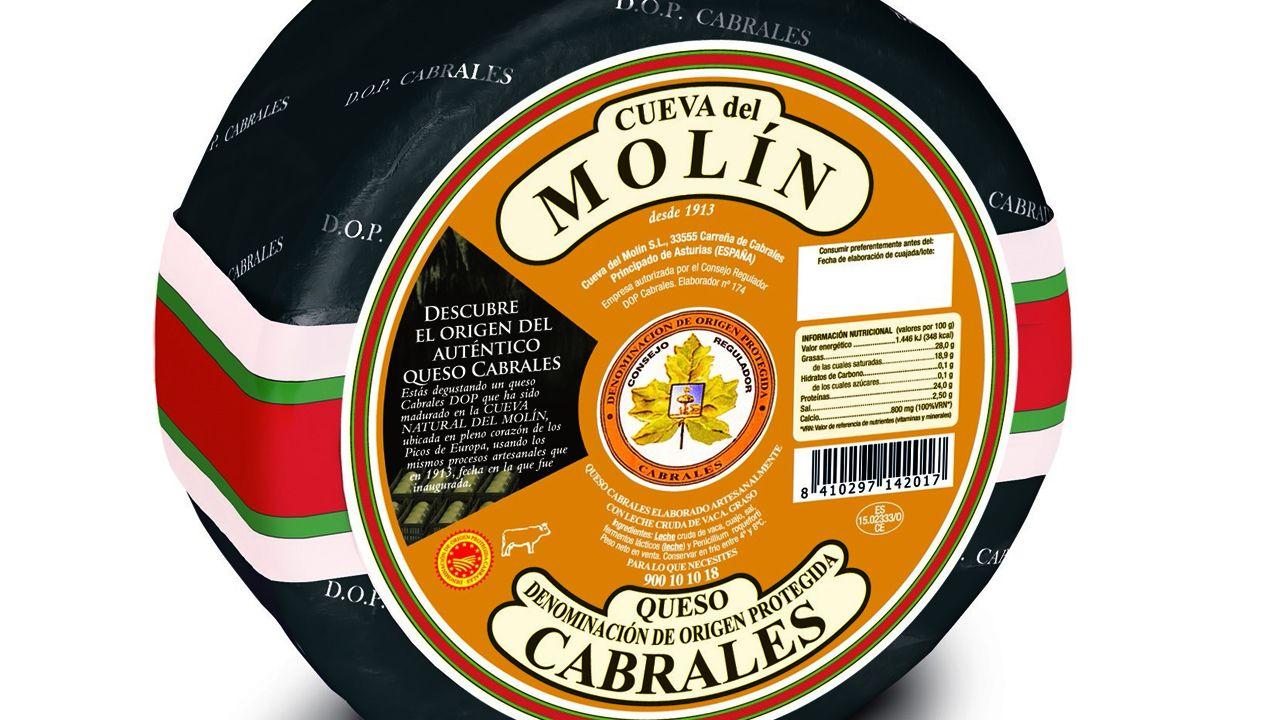 Uno de los quesos de Central Lechera galardonados en el certamen