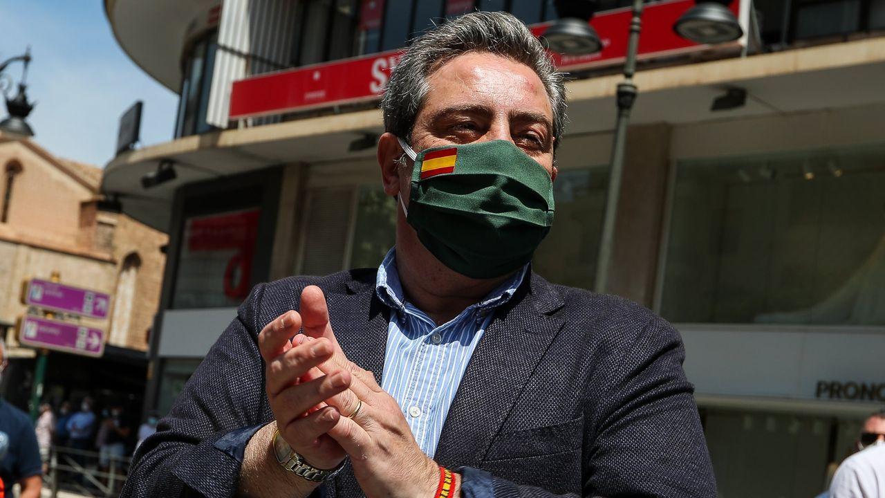 José María Llanos, presidente del Grupo Parlamentario de Vox en las Cortes Valencianas