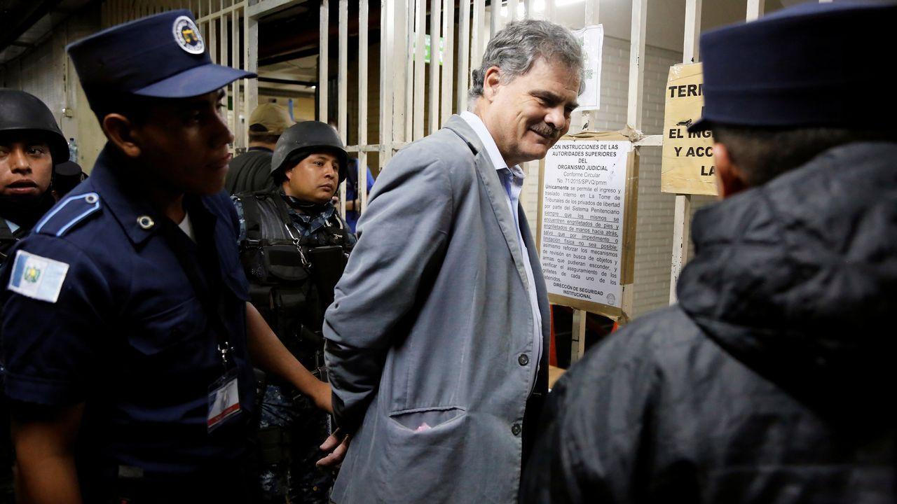El secretario general de Oxfam, José María Vera, apesadumbrado, en el momento en el que comunicó que en la filial de España también tenían constancia de abusos