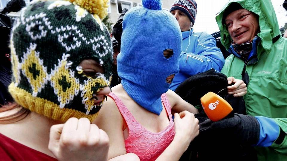 Madres e hijas alrededor del mundo.La banda Pussy Riot, firme defensora de los derechos de la mujer