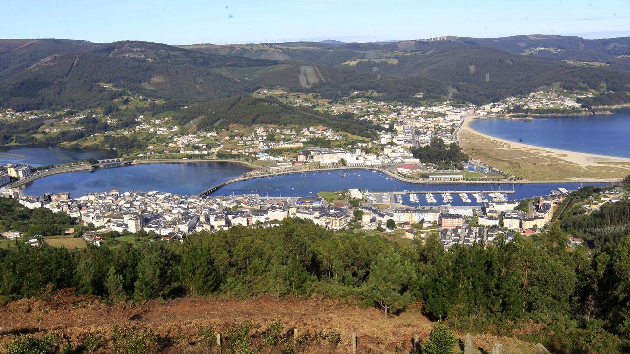 Vista del interior de la ría de Viveiro, en una imagen de archivo