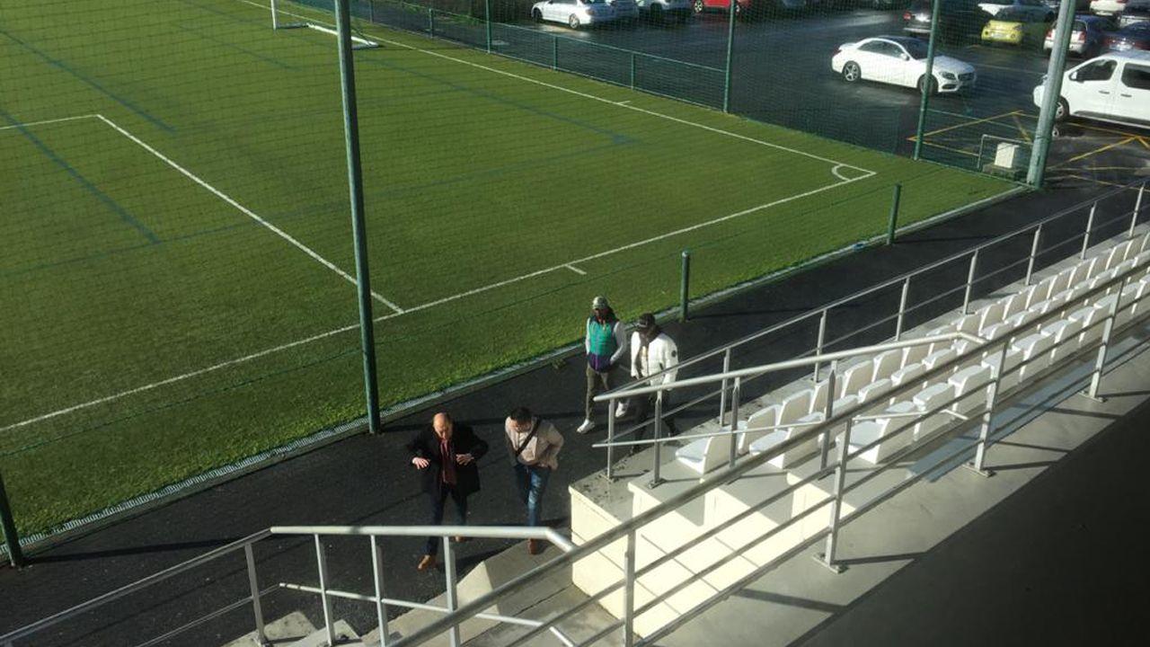 Borja Sánchez se lamenta tras una ocasión frente al Rayo