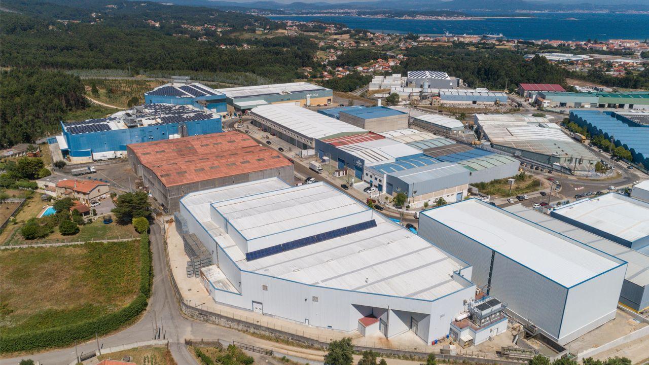 La fábrica de Congalsa, en A Pobra do Caramiñal