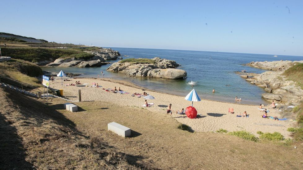Playa de Retorta, en Boiro.Playa de Ril, en Burela