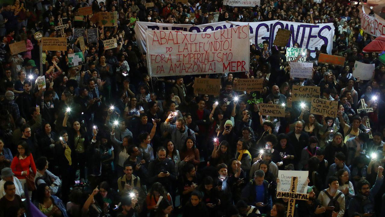 Movilización en Río de Janeiro