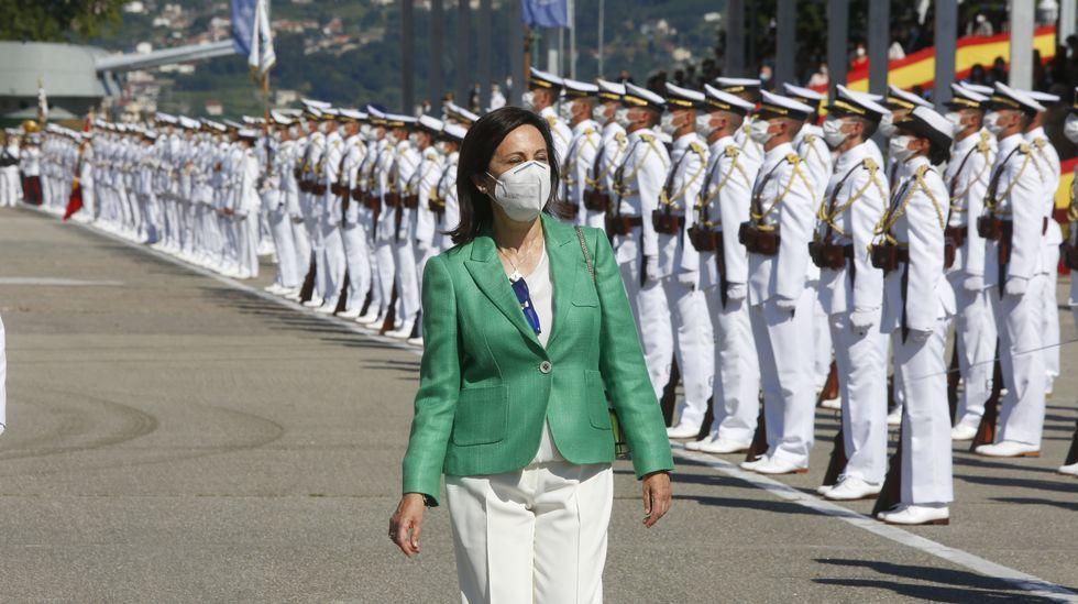 Margarita Robles preside el acto de entrega de Reales Despachos de la Armada.La última reunión del Real Patronato da Cidade de Santiago se celebró a principios de diciembre del 2003