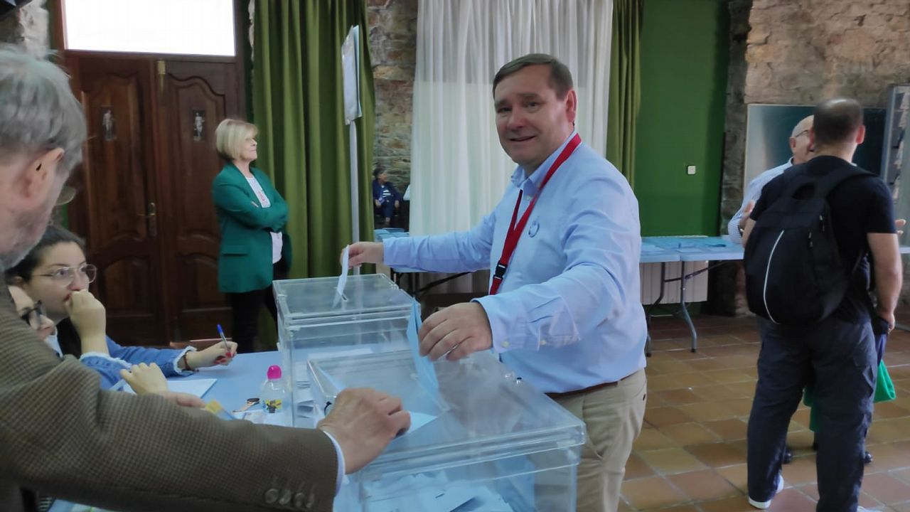 Juventino Trigo, candidato del BNG de Fene