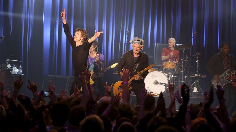 Concierto sorpresa de los Rolling.Rolling Stones en 1971