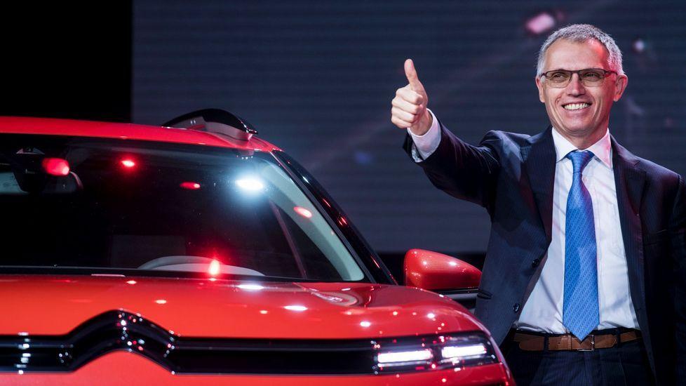 La nueva Citroën Berlingo debuta en el Salón de Ginebra.Carlos Tavares, consejero delegado del PSA Peugeot Citroen