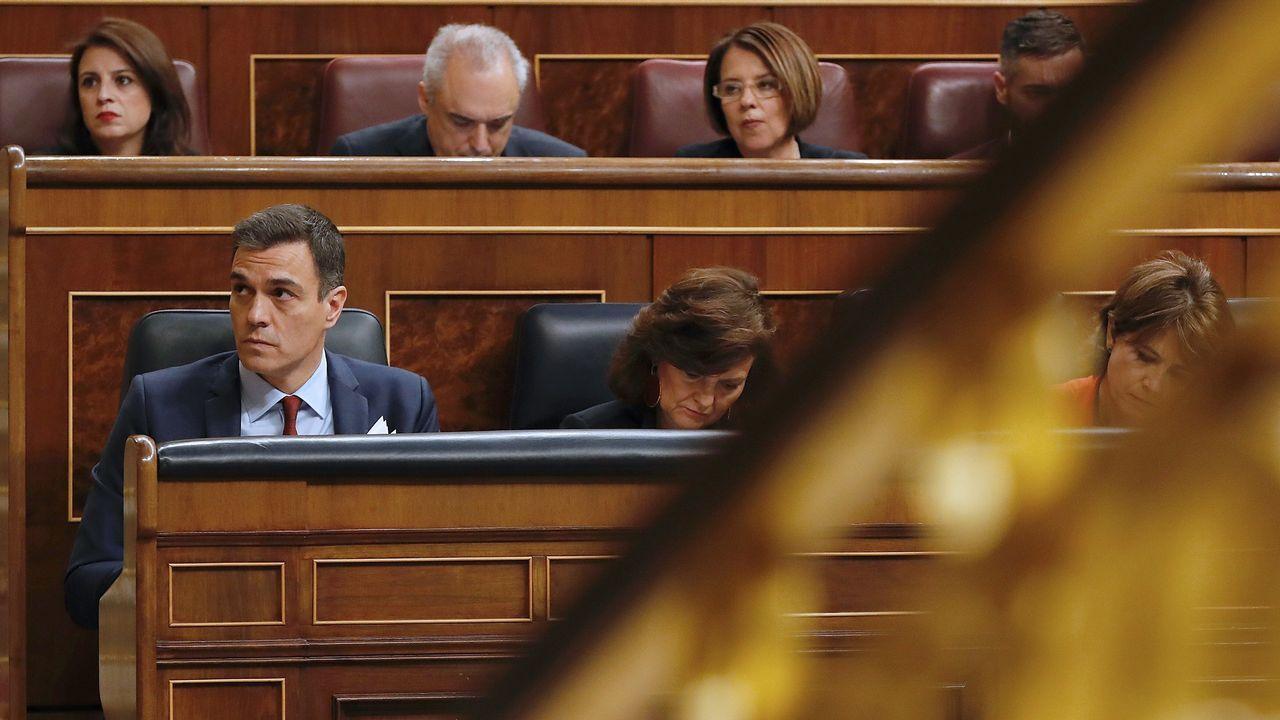 | EFE.Pedro Sánchez, en la última sesión de control al Gobierno