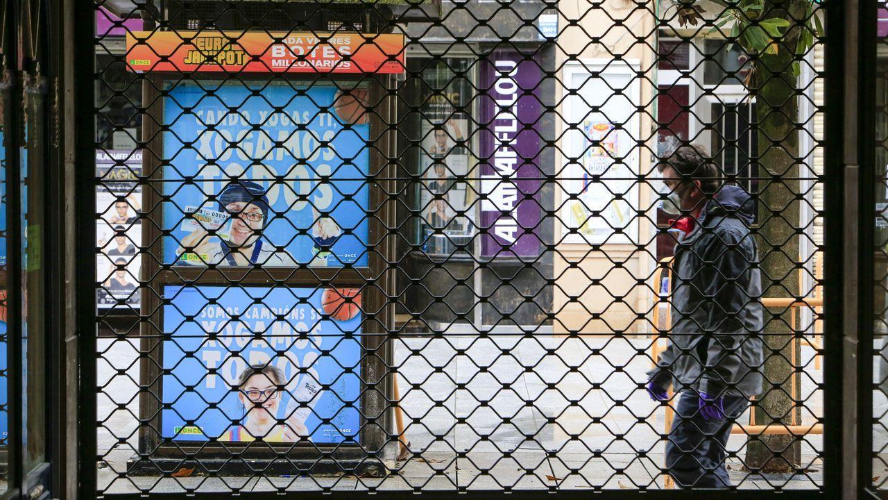 Negocios cerrados en Monforte como consecuencia de la alerta sanitaria