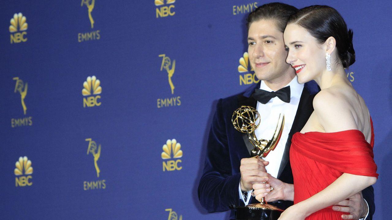 Emmy 2018: Michael Zegen y Rachel Brosnahan