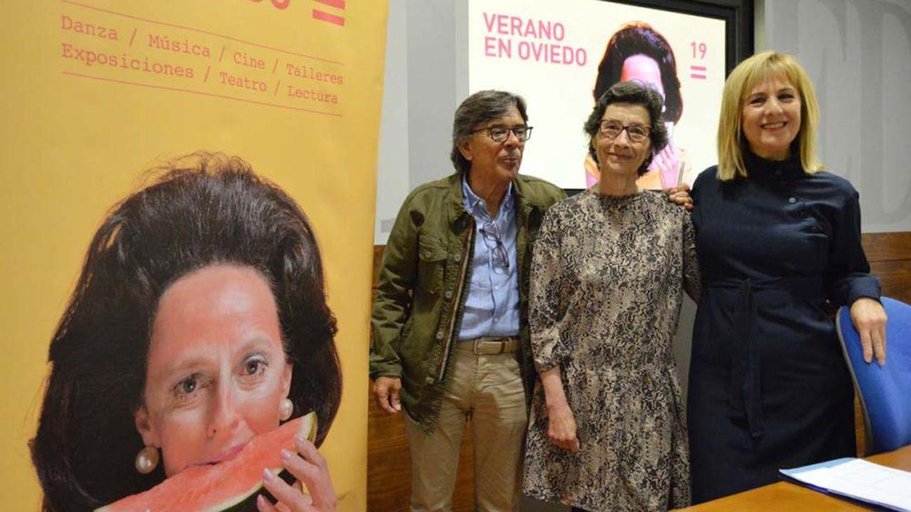 Gascona, sidra, sidrerías,.Presentación del Festival de Verano de Oviedo