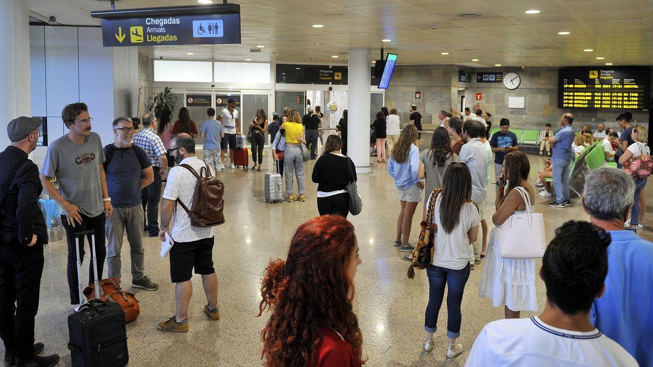 Campus de Santiago, donde estudian unos 22.000 alumnos; en Galicia en total hay sobre 56.000 personas preparándose en la universidad