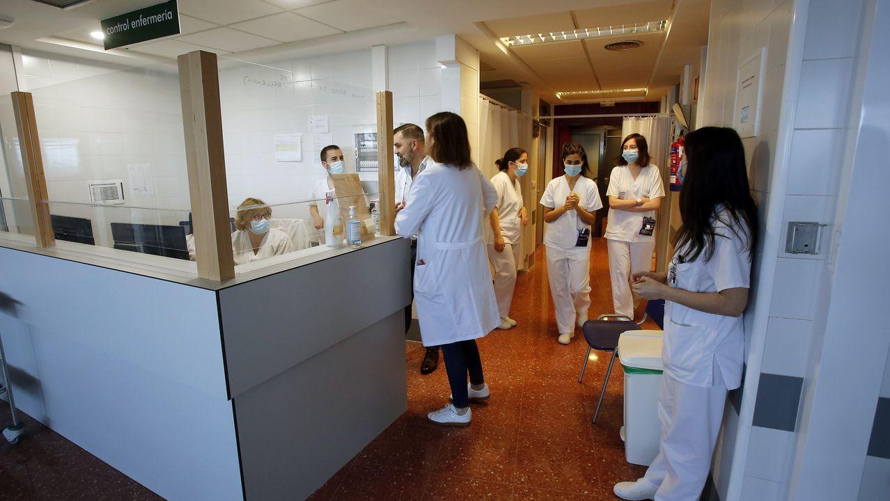 Equipo de enfermería del Chop que se encarga del seguimiento telefónico de pacientes covid en sus casas