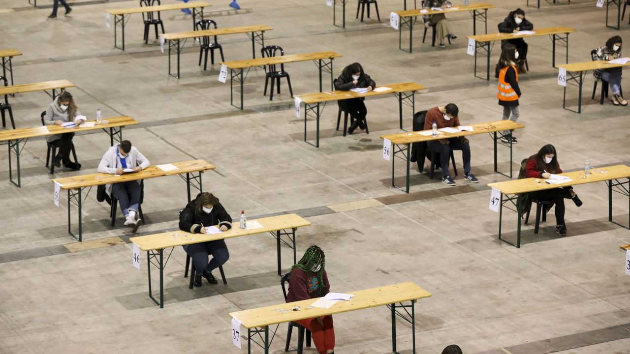 Examen de oposición del 14 de marzo en Silleda