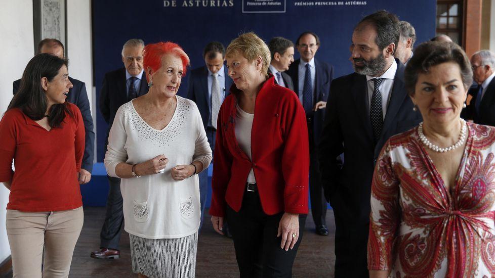 Miembros del jurado de Cooperación Internacional